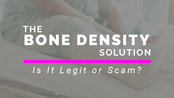 Bone Density Solution Legit or Scam